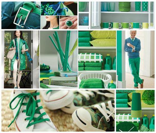 Pantone 2013 Emerald Poster