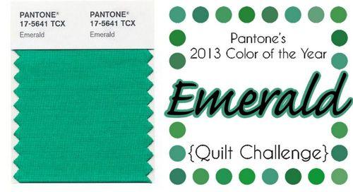 Pantone 2013 Emerald1