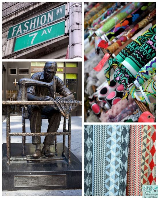 Fashion District Collage