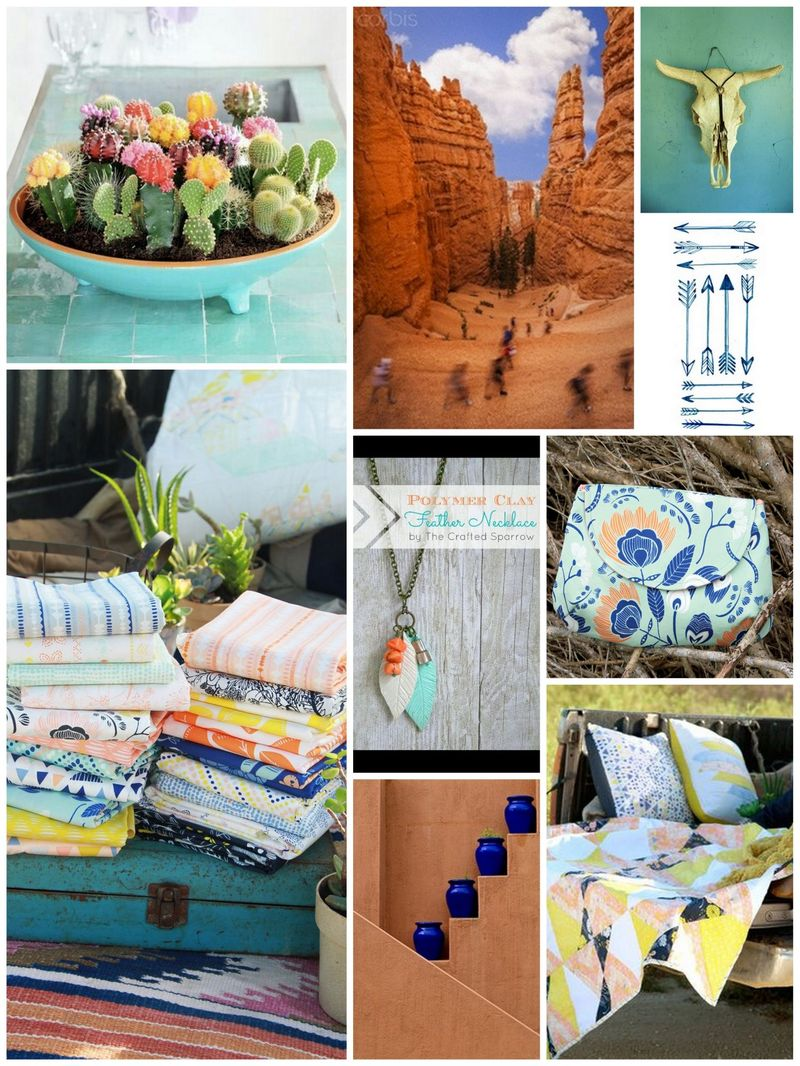 Indian Summer Inspiration Collage