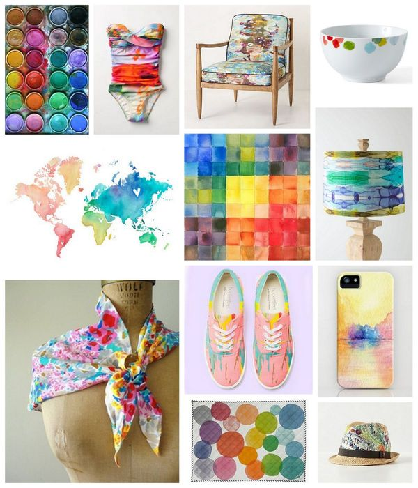 Watercolor Pinterest Inspiration