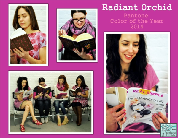 Radiant Orchid Poster 1