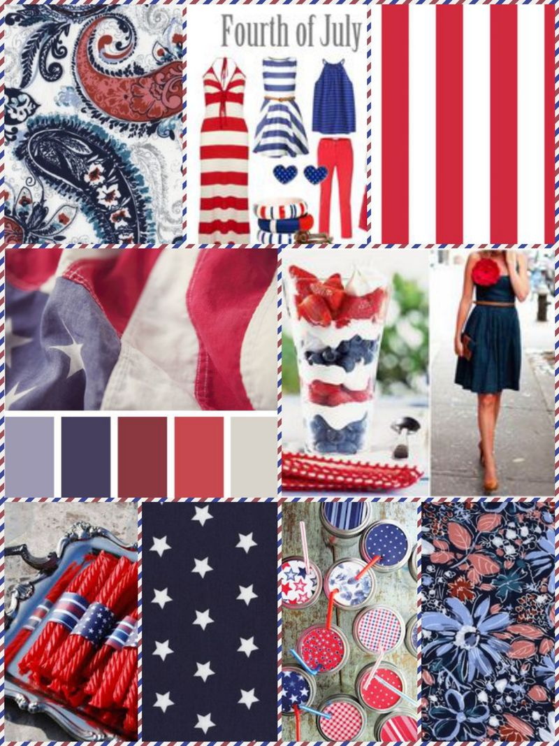 4th of July Inspiration board 1