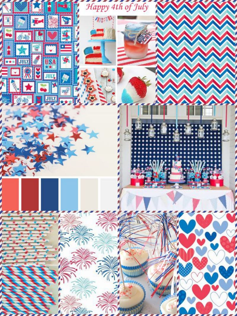 4th of July inspiration board 2
