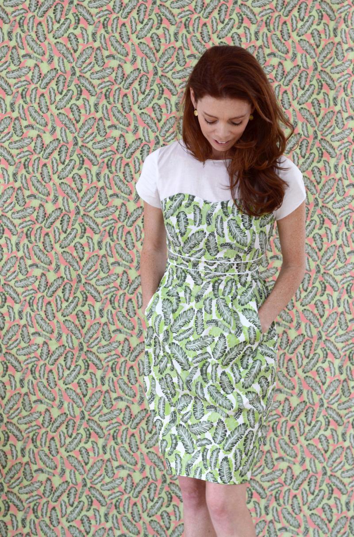 Lindsay Macaron Botany Dress