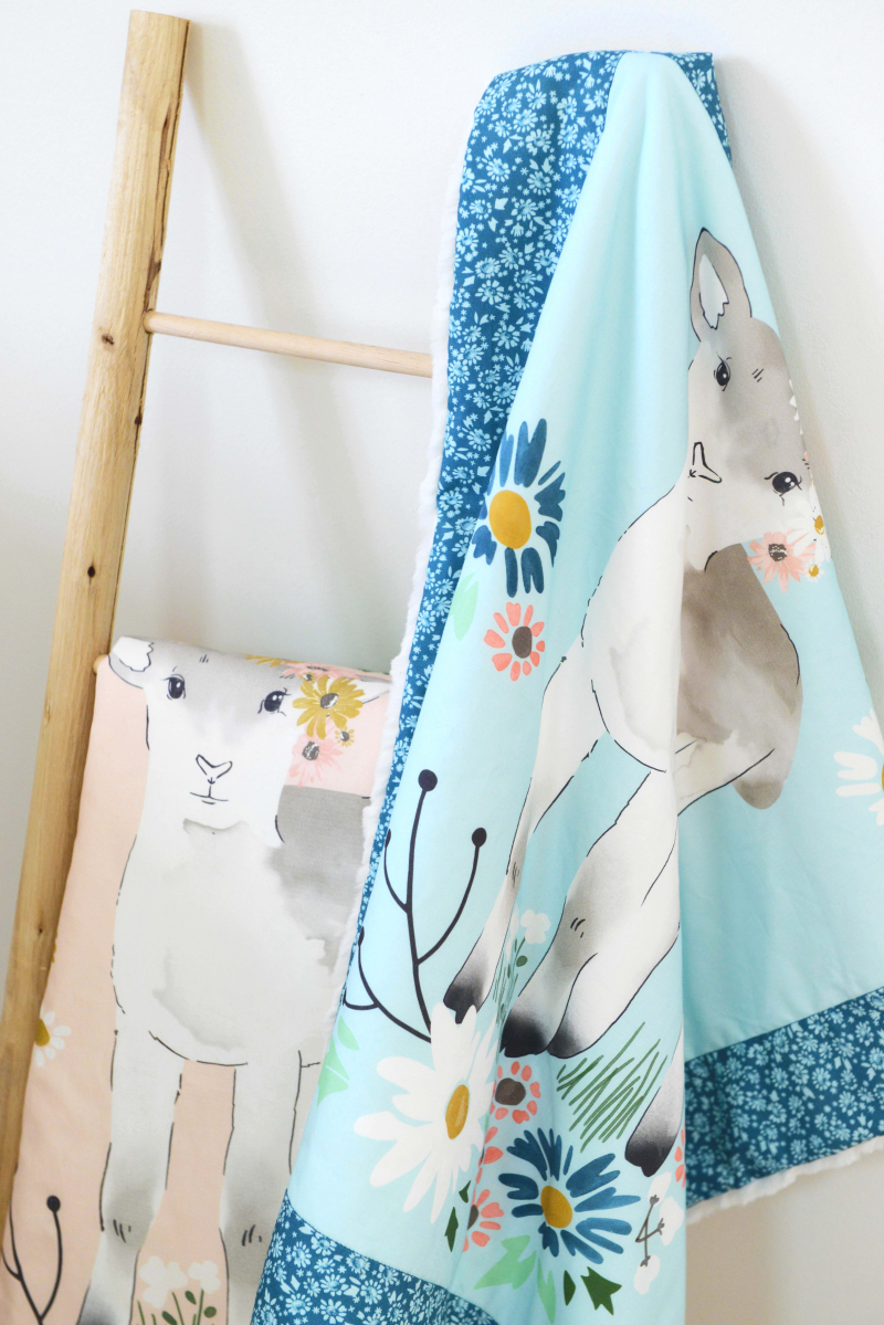 Lamb Crib Blankets