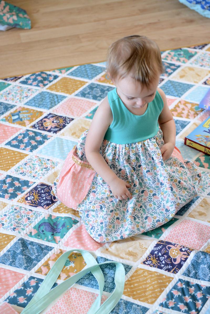 Brave Fabric Quilt