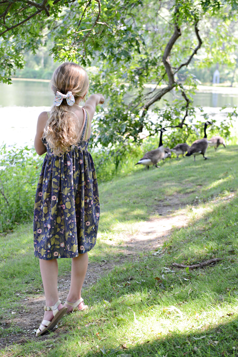 Thumbelina Fabric Sewing Inspiration Lexi Dress