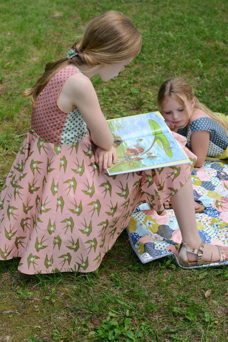 Thumbelina Fabric Quilt 6