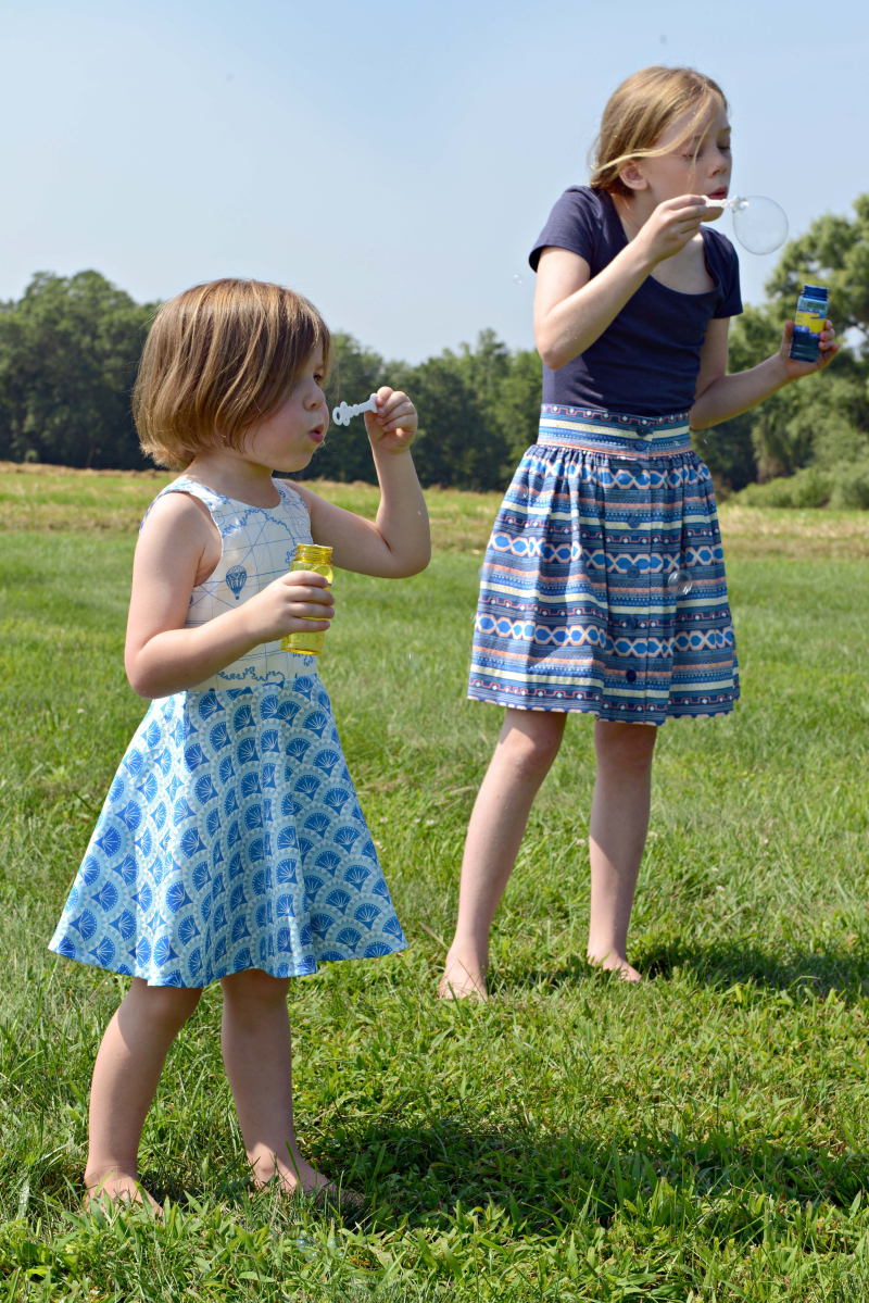 Voyager Fabric Ayda Dress and Anywhere Skirt