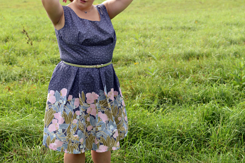 Moonlit Fabric Rue Dress by Colette