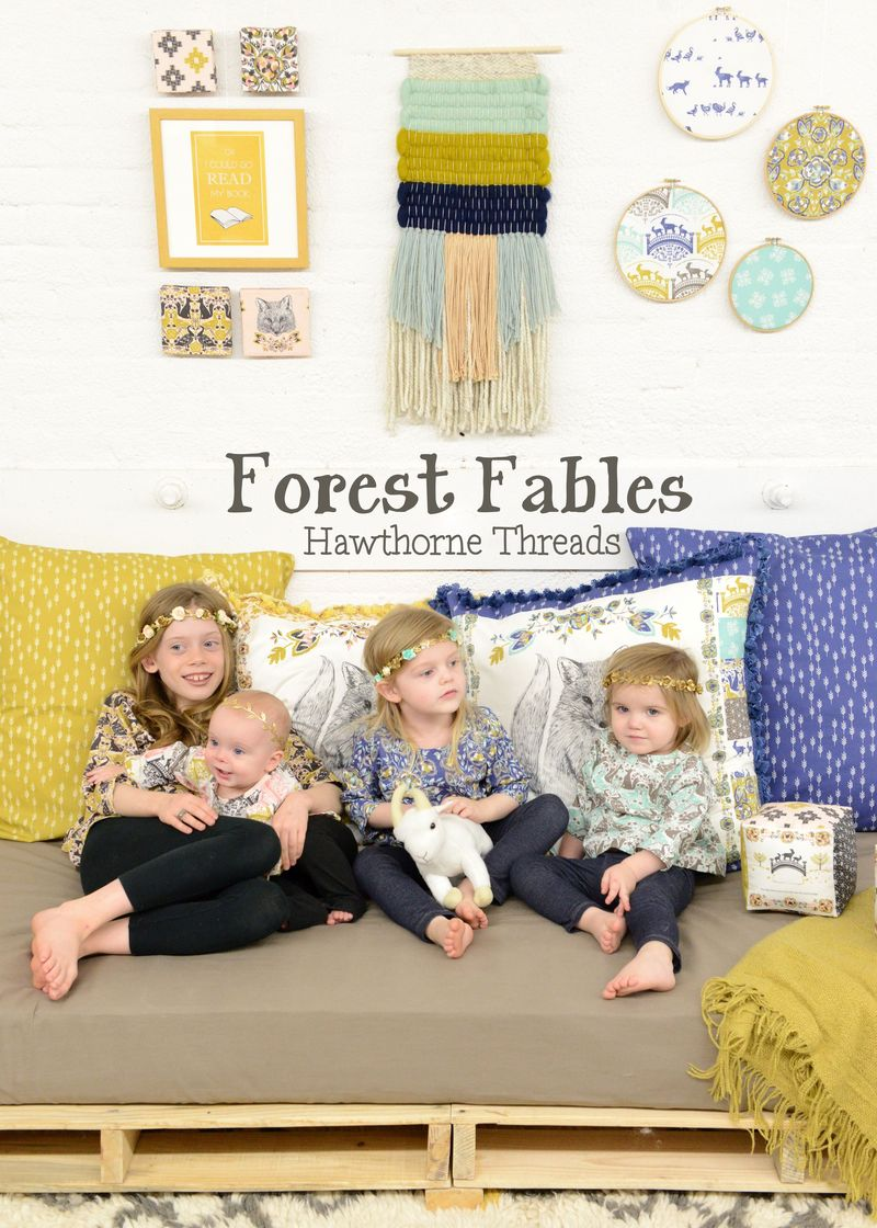 Forest Fables Fabric 1