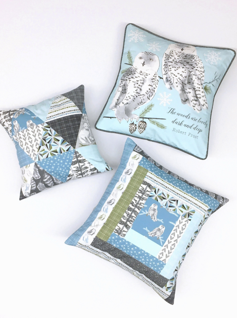Tundra Pillows Blue PS