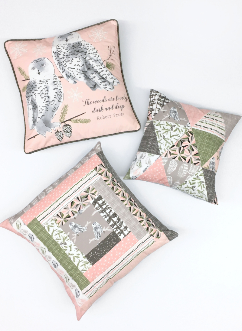 Tundra Pink Pillows 300