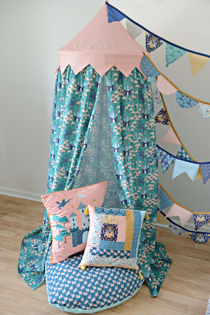 Brave Fabric Reading Nook Tent