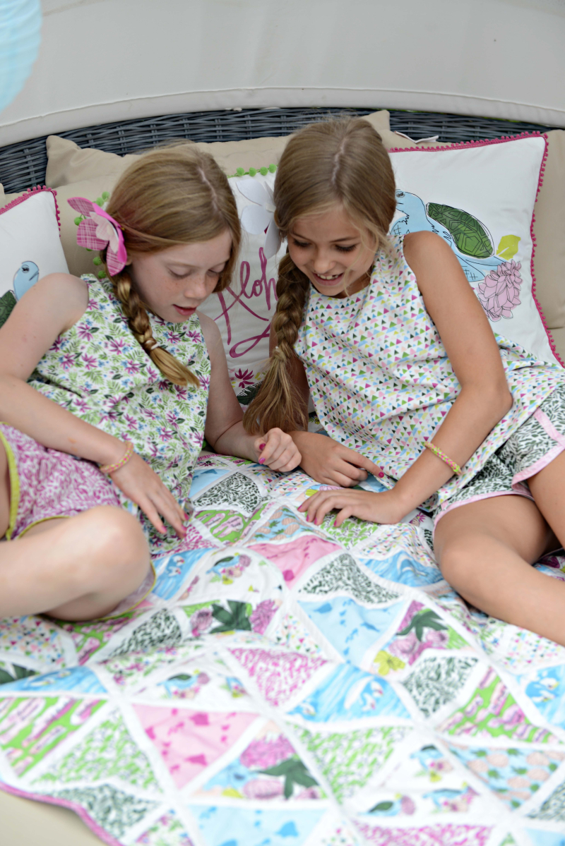 Aloha Tropical Fabric Sewing Inspiration 2