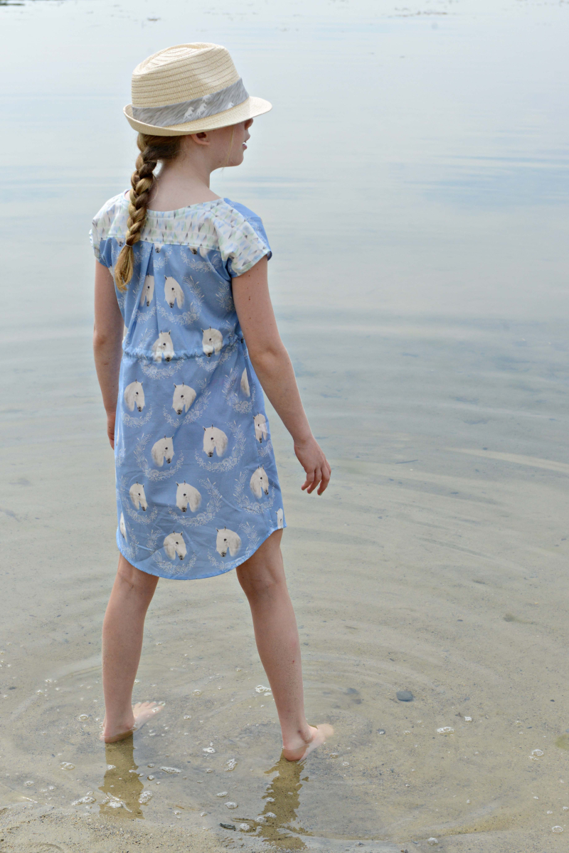 Hawthorne Threads Outer Banks Fabric Bondi Dress Back