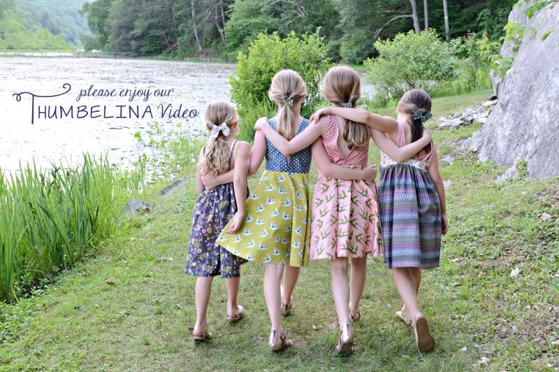 Thumbelina Sewing Inspiration