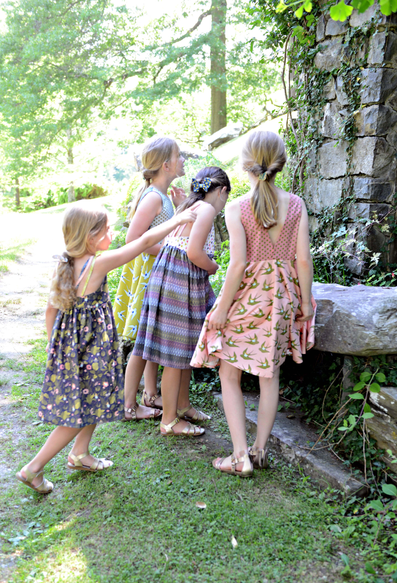 Thumbelina Fabric Dresses Sewing Inspiration with SLPCO