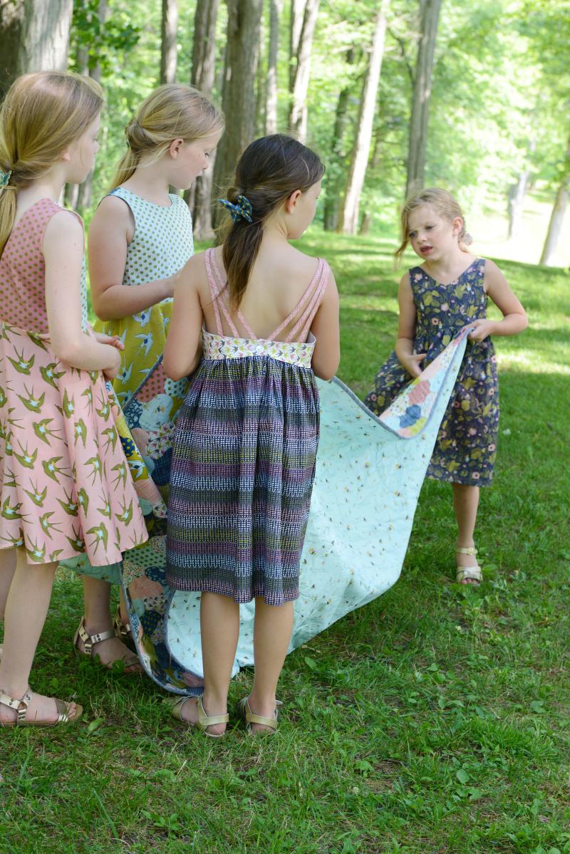 Thumbelina Fabric Quilt
