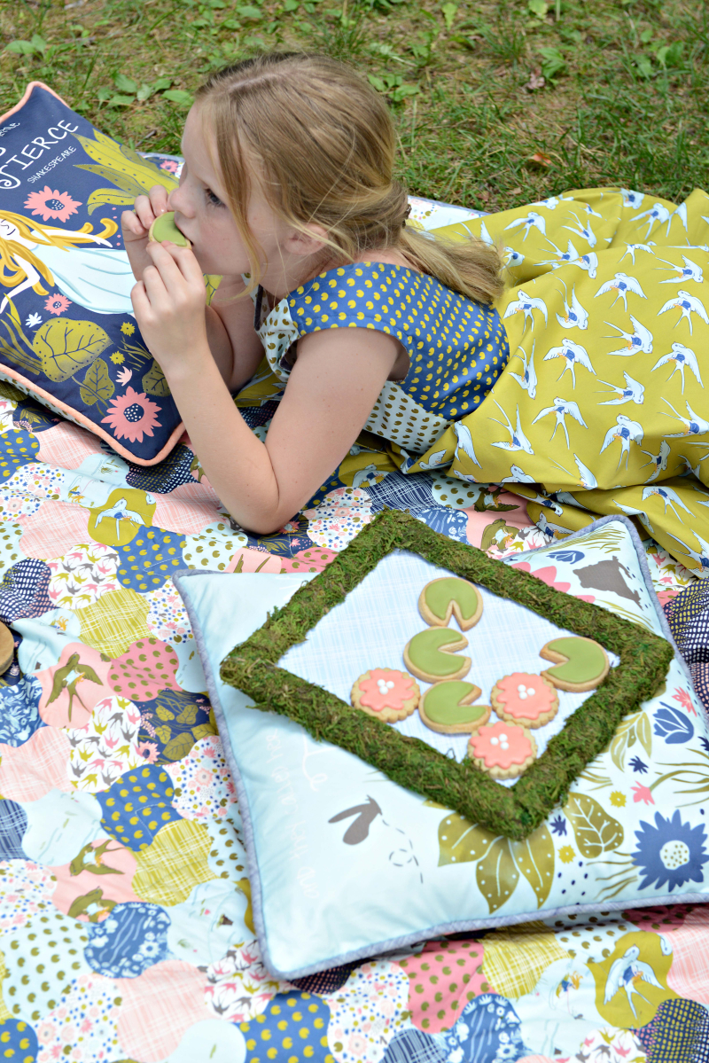 Thumbelina Quilt and Pillow