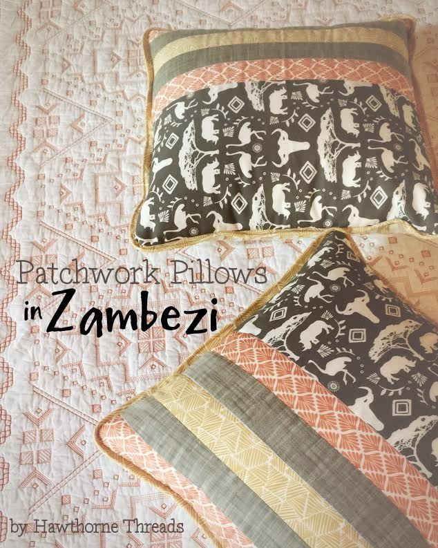 Zambezi Fabric Pillows 8