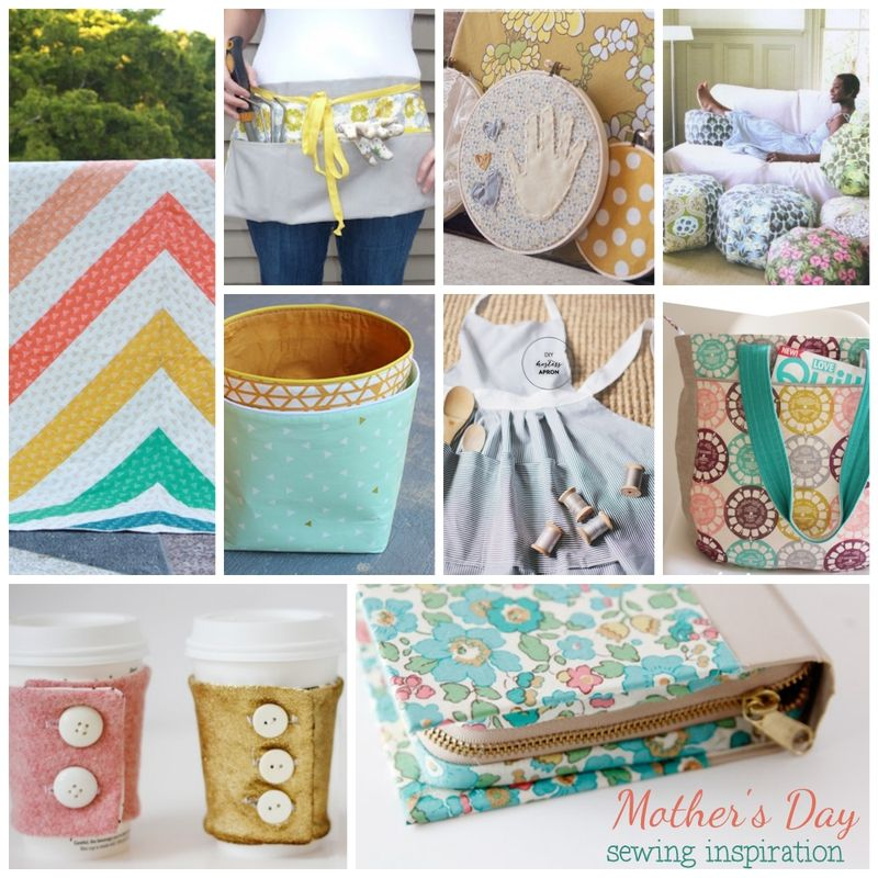 Mother's Day Sewing ideas from Hawthorne Threads