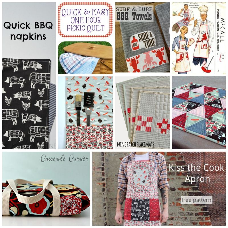 BBQ Sewing Inspiration