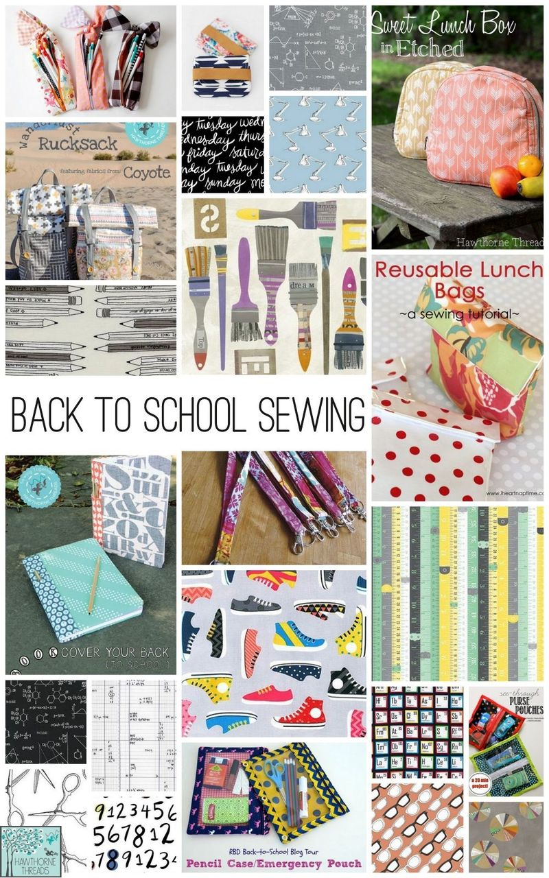Back To School inspiration Hawthorne Threads