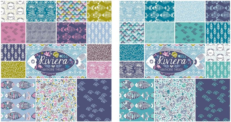 Riviera Fabric Fat Quarter Bundles