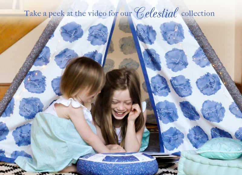 Celestial Fabric Video Still for Blog