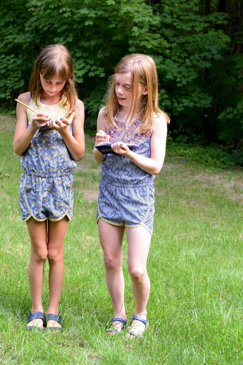 Blackbird Fabric Rompers