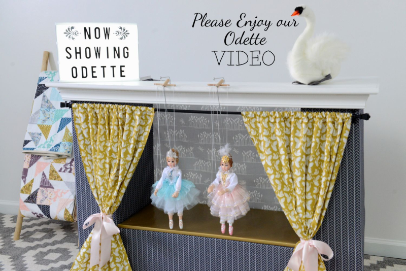 Odette Fabric Sewing Inspiration Video