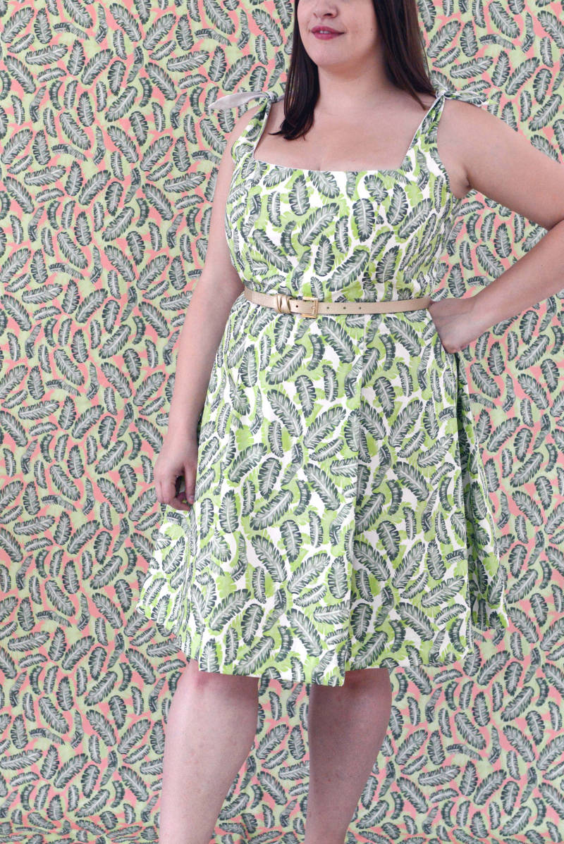 Botany Fabric Kim Dress