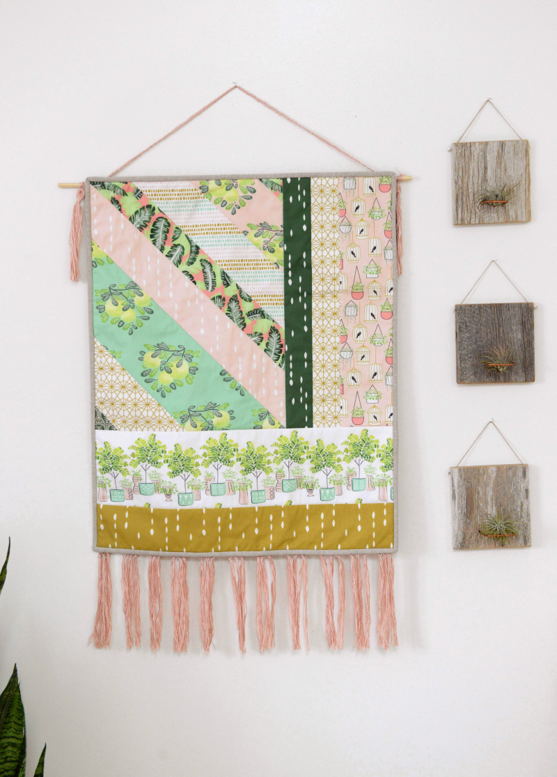 Botany Fabric Wall Hanging