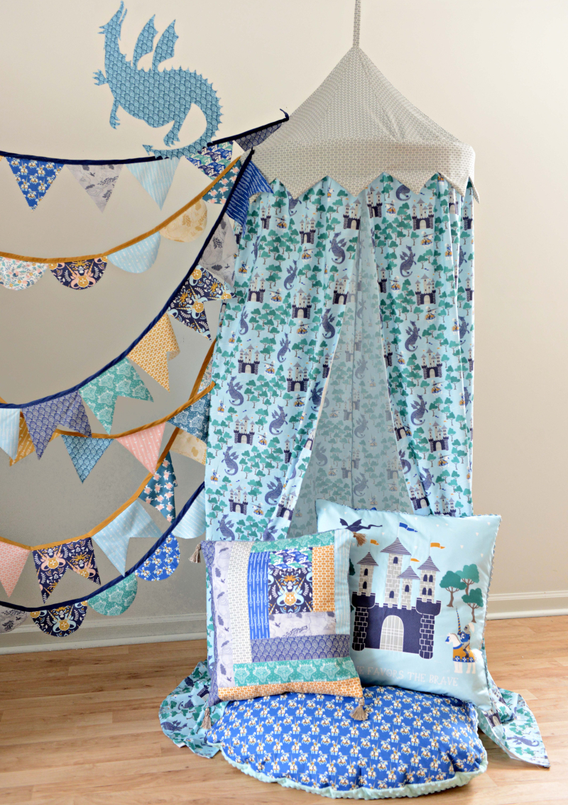 Brave Fabric Reading Nook Tent 2