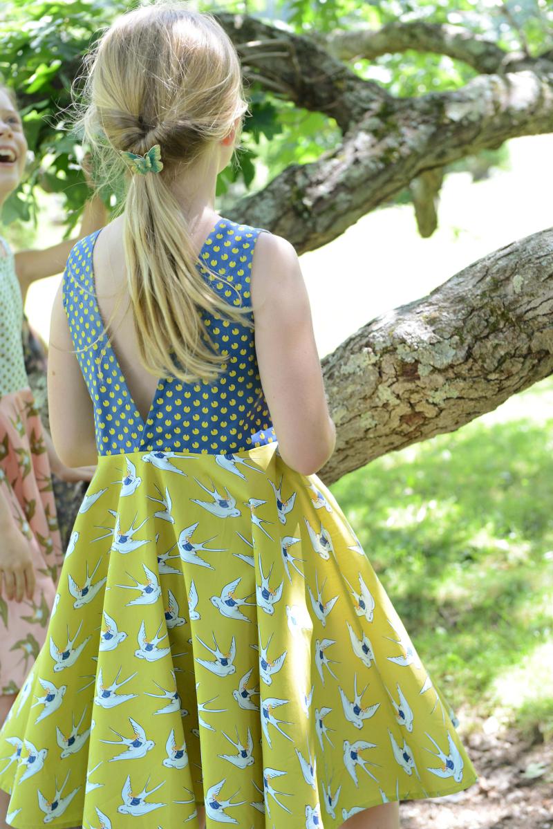 Thumbelina Sewing Inspiration Ayda Dress