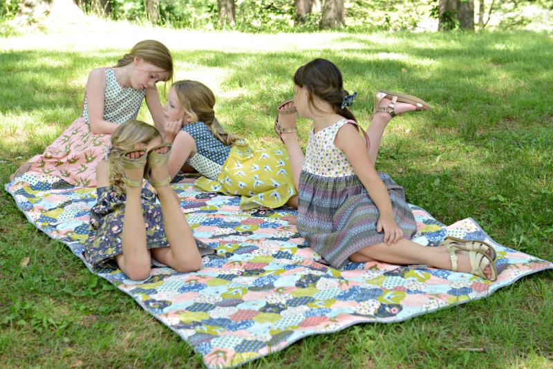 Thumbelina Fabric Quilt 2