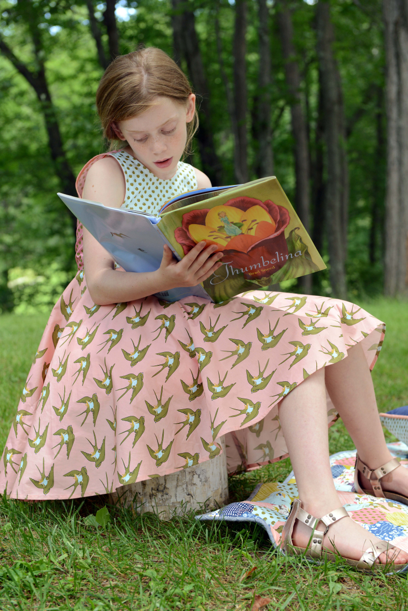 Thumbelina Fabric Quilt 4
