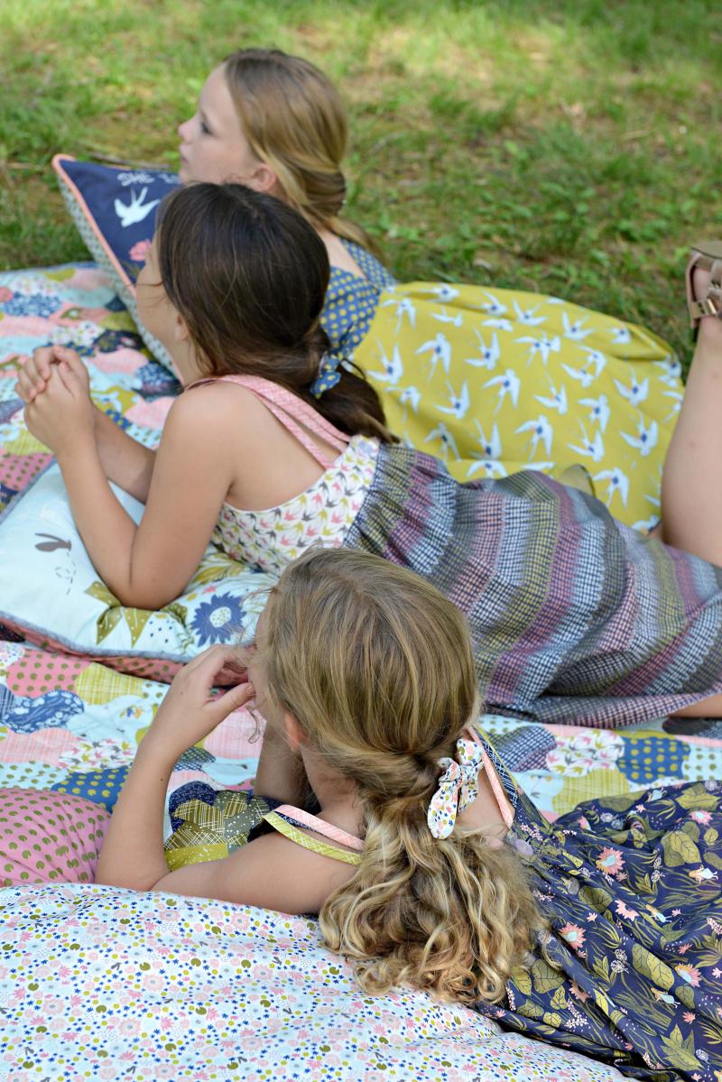 Thumbelina Fabric Quilt 5