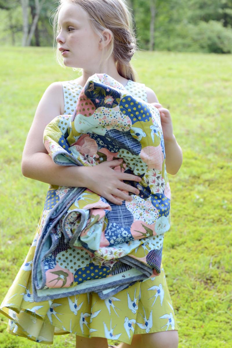 Thumbelina Fabric Quilt (2)
