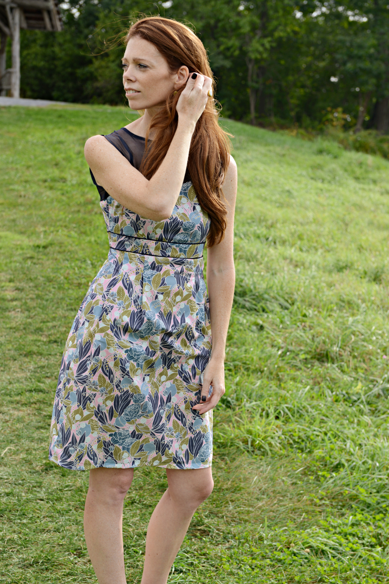 Moonlit Fabric Macaron Dress