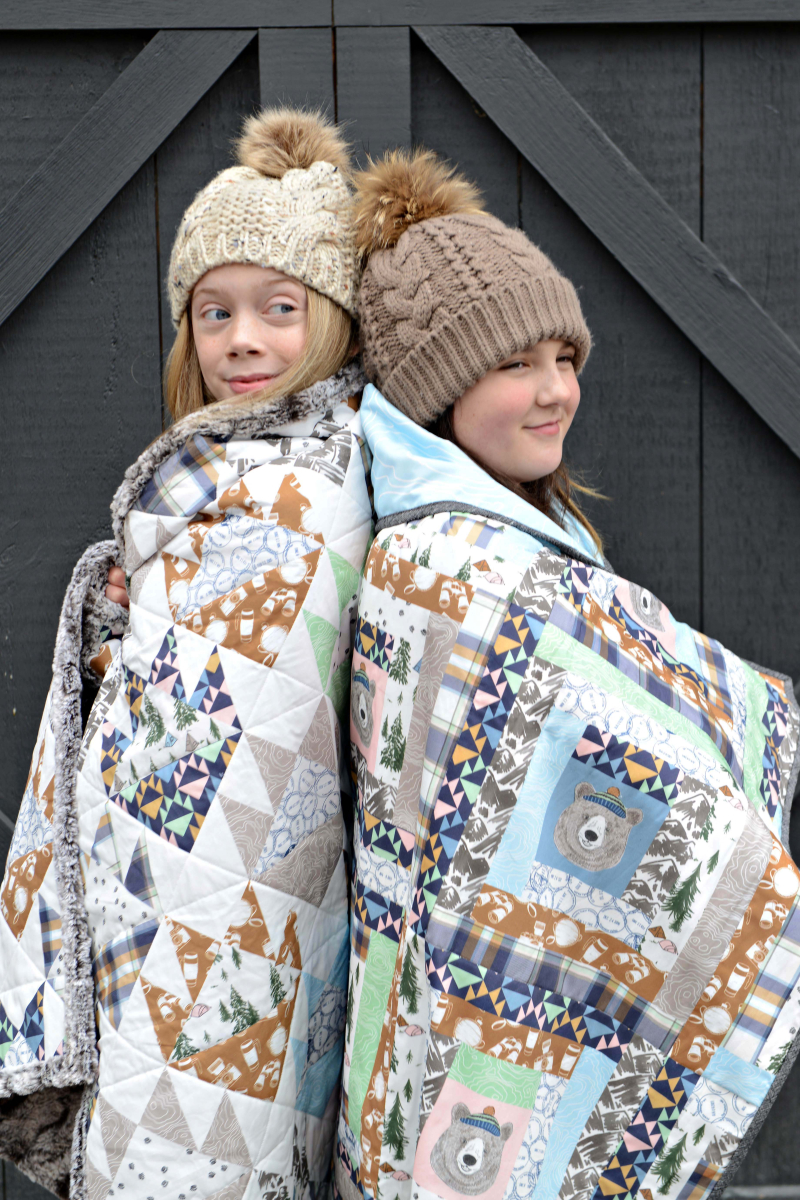 Hawthorne Supply Co Mountain Road Trip Fabric Sew To Grow Pajama Photo (2)