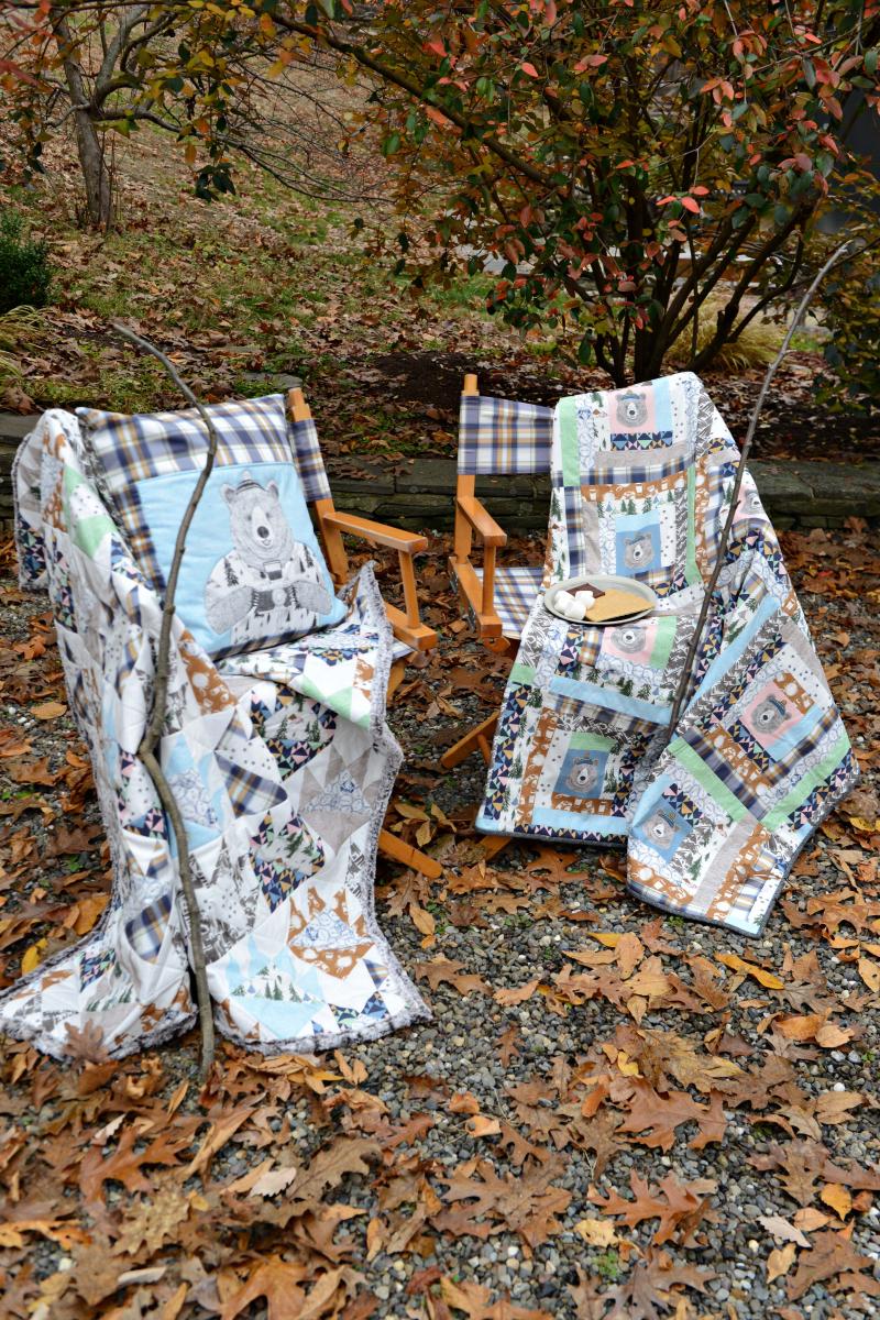 Hawthorne Supply Co Mountain Road Trip Fabric Sew To Grow Pajama Photo (7)