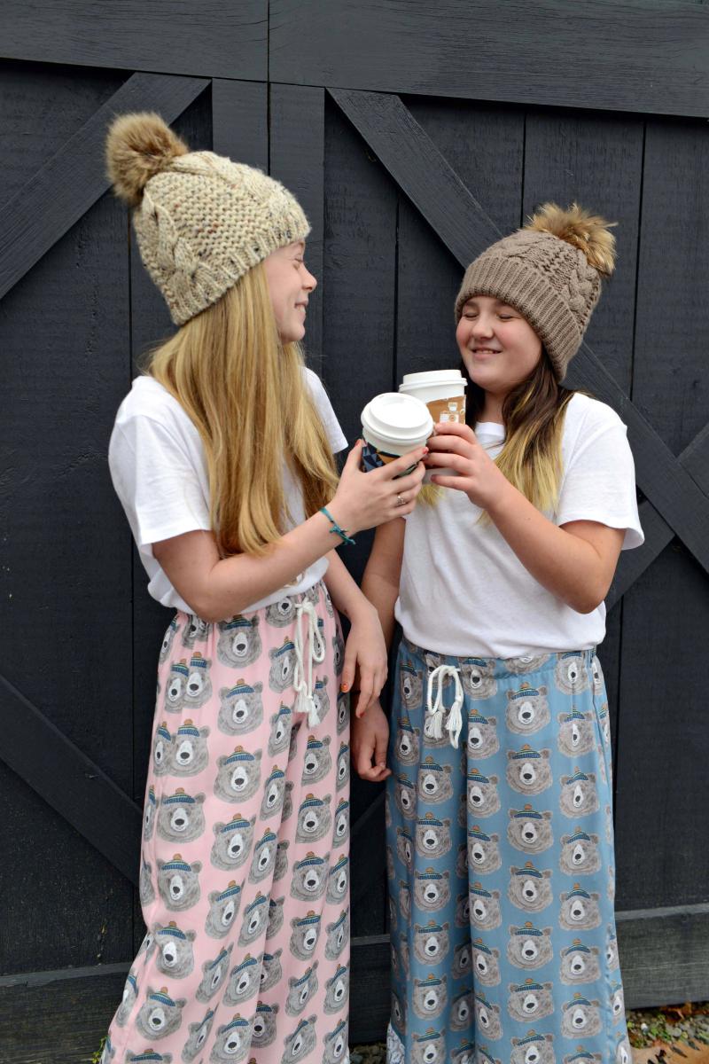 Hawthorne Supply Co Mountain Road Trip Fabric Sew To Grow Pajama Photo (4)