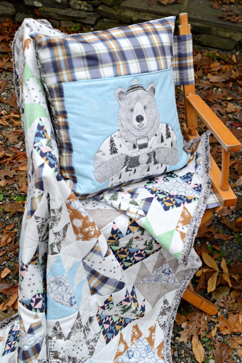 Hawthorne Supply Co Mountain Road Trip Fabric Sew To Grow Pajama Photo (8)